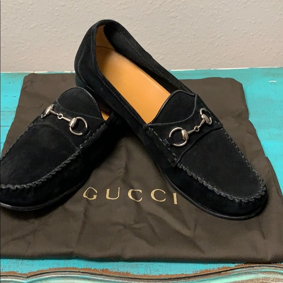 Gucci Shoes - Gucci Women's Black Softy Tek Suede Classic Loafer
